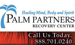 Palm Partners Recovery Center banner